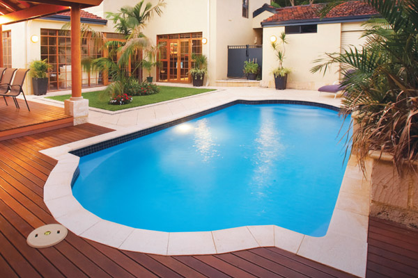 """Centurion"" Fibreglass Pool Design in Perth 