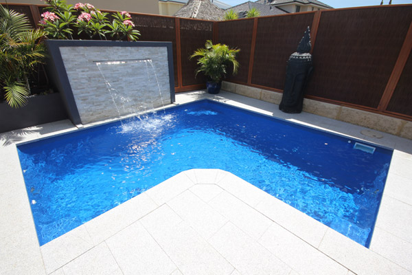 """Alfresco"" Fibreglass Inground Swimming Pool Design, manufactured and installed in Perth by Aqua Technics"