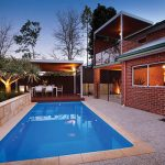 """Athena"" Fibreglass Backyard Swimming Pool Design"
