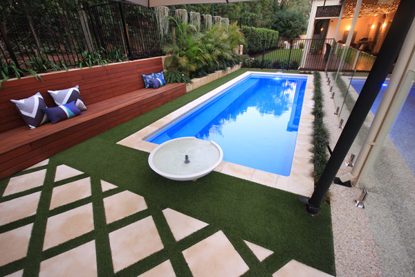 """Bellagio"" Fibreglass Pool Design in Perth (Buccaneer Swimming Pools)"