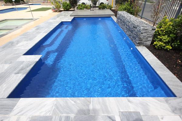 """""""Bellino"""" Inground Fibreglass Swimming Pool"""