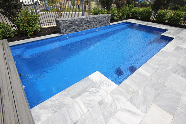 """Castello"" Fibreglass Pool Design in Perth (Buccaneer Pools)"