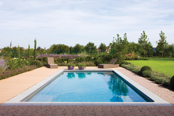 """Dynasty"" Fibreglass Pool Design in Perth 