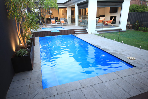 """Oxford"" Fibreglass Pool Design in Perth 
