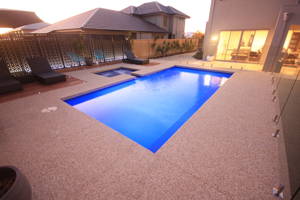 """Palazzo"" Fibreglass Pool Design in Perth 