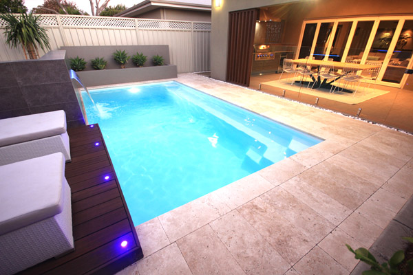 """Positano"" Fibreglass Pool Design in Perth 