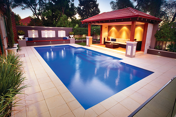 """Regal"" Fibreglass Pool Design in Perth 