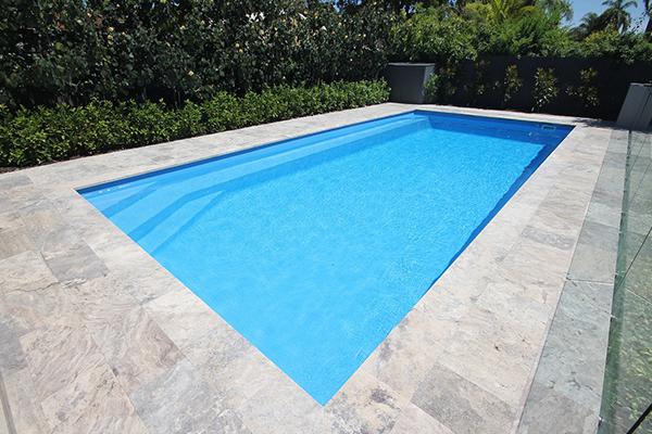 """Sienna"" Inground Fibreglass Pool Design in Perth"