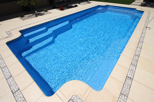 """St Tropez"" Inground Fibreglass Pool Design in Perth"
