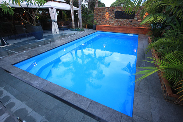 """Valentina"" Fibreglass Pool Design in Perth, manufactured by Aqua Technics"