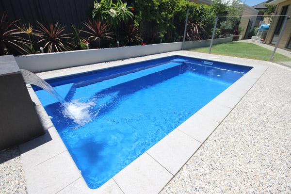 """Verona"" Inground Fibreglass Swimming Pool Design"