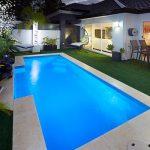 """Windsor"" Inground Fibreglass Backyard Swimming Pool Design"