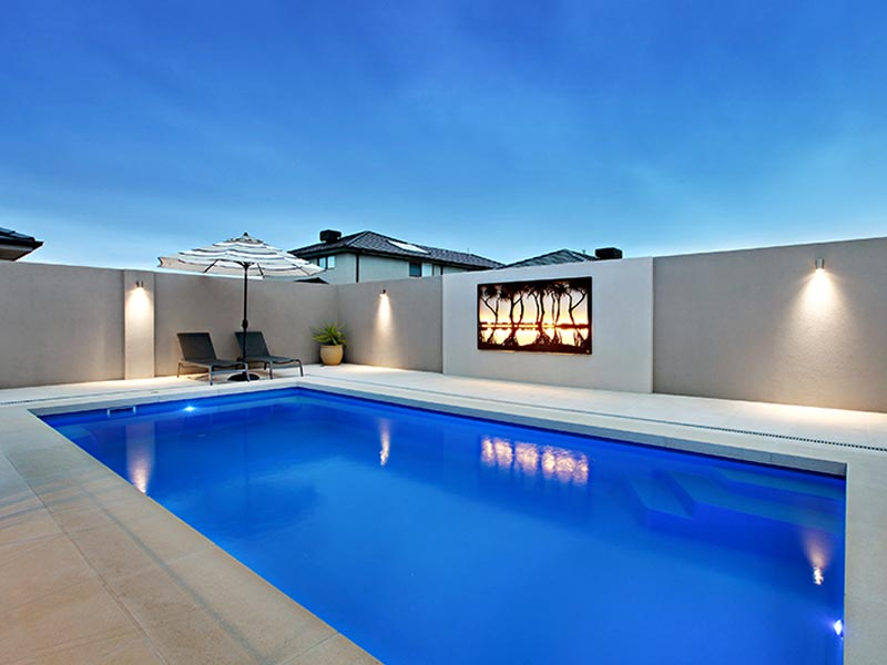 """""""Conquest"""" Fibreglass Swimming Pool 