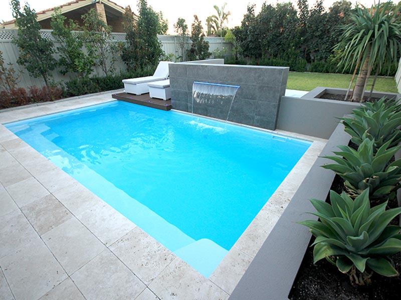 """Positano"" Fibreglass Swimming Pool | Pool Buyers Guide"