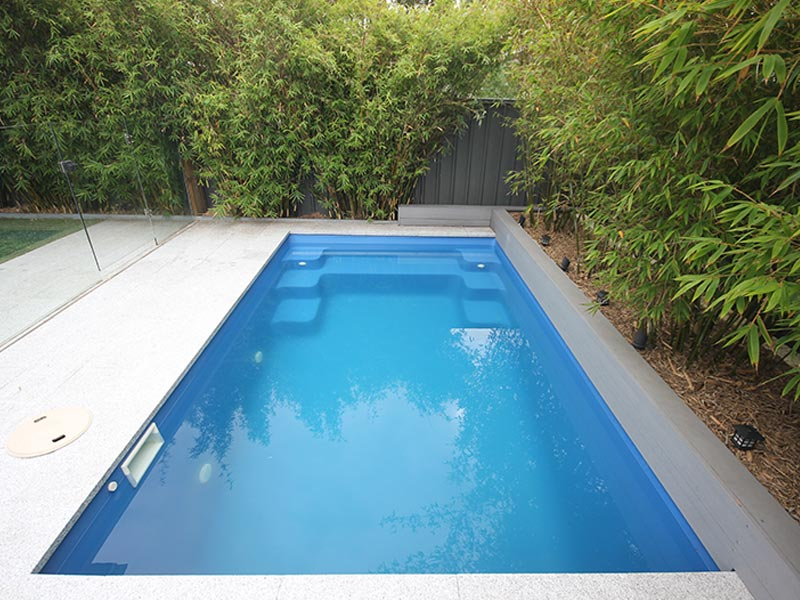 """Serenity"" Fibreglass Swimming Pool | Pool Buyers Guide"