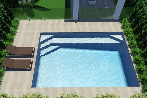 """Avellino"" Fibreglass Swimming Pool   Pool Buyers Guide"