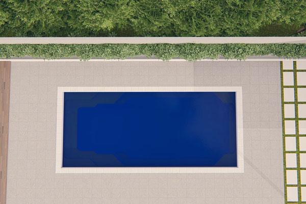 """Napoleon"" Fibreglass Swimming Pool Design | Pool Buyers Guide"