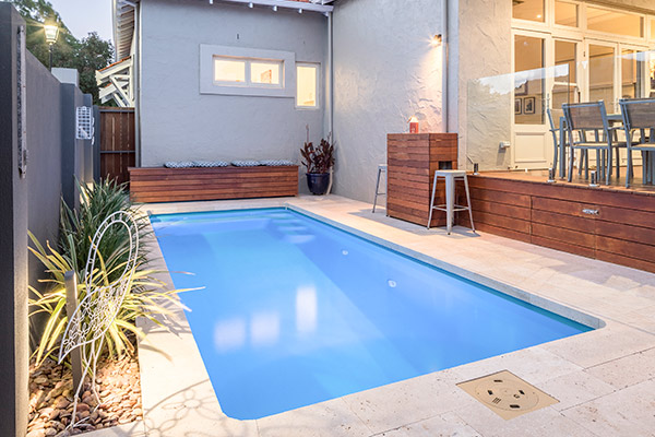 """Biscay"" Fibreglass Swimming Pool 