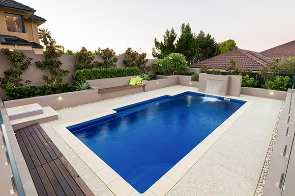 """Calypso"" Fibreglass Swimming Pool 