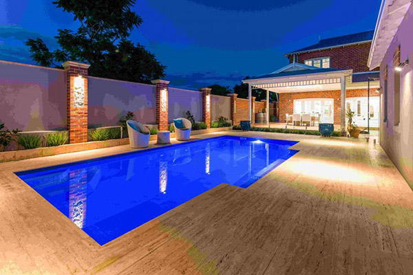 """Caribbean"" Fibreglass Swimming Pool 