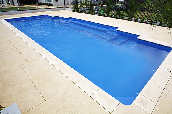 Mediterranean Fibreglass Swimming Pool | Pool Buyers Guide